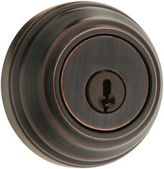 Kwikset 984S Double Cylinder Deadbolt with UL Rating from the Signature Series