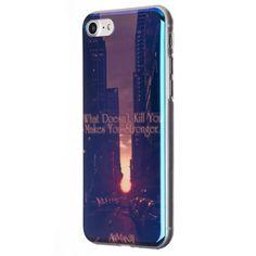 Extra lesklý silikonový kryt na iPhone 7 - iRaptor Series Blue Chrome  SBC10108 Mobiles 8ad75b7f5f3