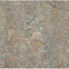 "Marmoleum Click Cinch Loc 11.81"" x 11.81"" x 9.9mm Cork Laminate Flooring in Gray"