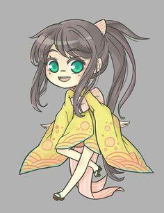 Kimono chibi series