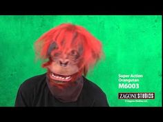 Super Action Orangutan Mask | Zagone Studios