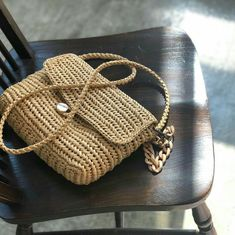 Crochet Case, Crochet Clutch, Crochet Handbags, Crochet Purses, Diy Crochet, Crochet Bag Tutorials, Crochet Basket Pattern, Embroidery Bags, Craft Bags