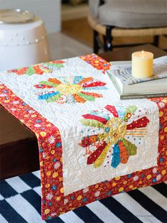 Quilt with the stars....Jenny Doan...love her simple approach to quilting.