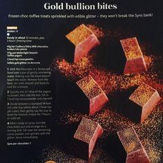 Gold bullion bites