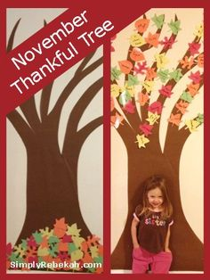 EXAMPLE OF THANKFUL TREE: November Thankful Tree: A simple and frugal Thanksgiving tradition that celebrates being thankful each day in November. Thanksgiving Tree, Thanksgiving Traditions, Thanksgiving Activities, Autumn Activities, Holiday Traditions, Thanksgiving Decorations, November Thanksgiving, Family Traditions, Fall Crafts