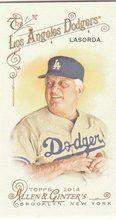 2014 Topps Allen Ginter Baseball Mini #161 Tommy Lasorda, Los Angeles Dodgers