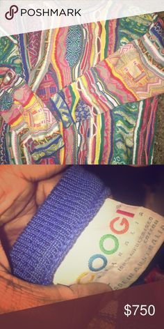 Authentic Unisex Coogi Sweater Inspired by Biggie Smalls. Made in Australia. - 100% mercerized cotton COOGI Sweaters
