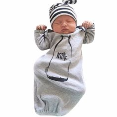 Infant Baby Boys Girls Long Sleeve Jumpsuits Clothes Sleepwear Unisex Romper Newborn Baby Boy Clothes Cute Rompers #Affiliate