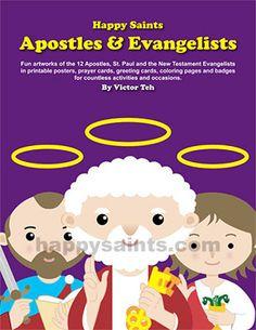 Happy Saints: Happy Saints Apostles & Evangelists eBook