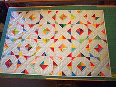 52 Quilts in 52 Weeks: Quilt # 7 - Hugs and Kisses (this makes me want to really learn how to see)