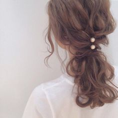 really pretty hairstyles Twists My Hairstyle, Pretty Hairstyles, Wedding Hairstyles, Casual Hairstyles, Short Brown Hair, Hair Arrange, Hair Day, Hair Looks, Lace Wigs