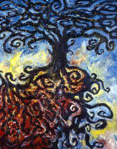 """The Tree - Clive Barker  Un tempo scrittore (sui suoi primi libri c'era una fascetta che recitava """"il mio unico erede - Stephen King"""", mera operazione di marketing), poi ha fatto il regista delle trasposizioni cinematografiche delle sue opere scritte (Cabal ed Hellraiser) adesso fa solo il pittore"""
