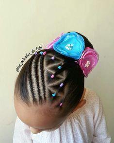 Aria Hair, Outre Hair, Gymnastics Hair, Curly Hair Styles, Natural Hair Styles, Little Girl Haircuts, Kid Braid Styles, Braids For Kids, Hair Designs