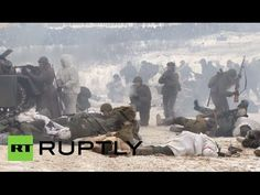 Epic WWII Battle: End of Leningrad siege re-enacted on 70th Anniversary