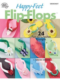24 fun to crochet flip-flop patterns