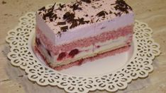 Bajadera kocka, recept, Zákusky   Tortyodmamy.sk Bread Recipes, Cake Recipes, Dessert Recipes, Czech Recipes, Ethnic Recipes, Wedding Desserts, Good Mood, Vanilla Cake, Tiramisu