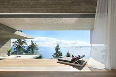 Sunset House von Mcleod Bovell Moderne Häuser in West Vancouver, Kanada Architecture Romane, Architecture Baroque, Interior Architecture, Vancouver Architecture, Alexander Brenner, Wooden Cladding, Chill, House Viewing, Interior Decorating
