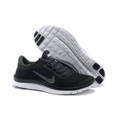 wholesale nike free 3.0 herresko sort sølv sko onlinepopulære nike free 3.0 sko online