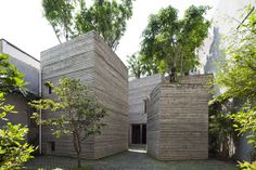 House for Trees in Vietnam by Vo Trong Nghia Architects - Google Search