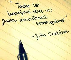 «Todo lo barajaré otra vez para encontrarte como quiero» #Cortázar #libresdelectura