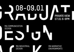 Identity Design for Central Saint Martins Work in Progress Show
