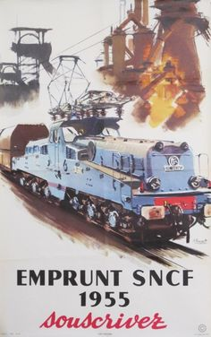 Emprunt SNCF 1955 - souscrivez