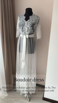 Lace Bridal Robe, Bridal Robes, Wedding Lingerie, Wedding Day Robes, Boho Maternity Dress, Bridal Boudoir Photography, Plus Size Boudoir, Shalwar Kameez, Sensual