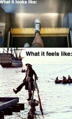 Pirates of the Caribbean joke