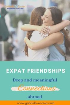 """Finding Friendships as Expats is challenging. We struggle in search of people we can feel attached and connected. Sometimes we even find some """"prospects"""" and then have second thoughts about it (or the other way around). Join me in this article and discover why friendship abroad is essential to make our expat experience more joyful and fulfilling! #livingabroad rfriend #friendship #expat #gabrielaencina Feeling Stuck, Feeling Lonely, Gabriel, Women's Mental Health, Travel Jobs, Instagram Life, Make New Friends, Coping Skills, Find A Job"""