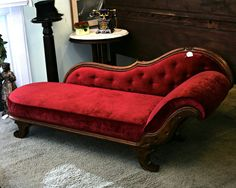 "Victorian fainting couch - This is perfect for our ""Red Couch Coaching""…"
