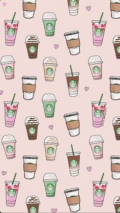 Cute Backgrounds For iPhone Starbucks Cute Backgroun. - Cute Backgrounds For iPhone Starbucks Cute Backgrounds For iPhone Starb - Coffee Wallpaper Iphone, Starbucks Wallpaper, Funny Iphone Wallpaper, Cute Wallpaper For Phone, Homescreen Wallpaper, Cute Patterns Wallpaper, Emoji Wallpaper, Iphone Background Wallpaper, Cute Disney Wallpaper
