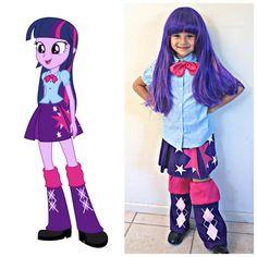 Twilight Sparkle Costume Equestria Girls par JustSewSpecialShop