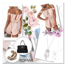 """""""Romwe 1/3"""" by almma-karic ❤ liked on Polyvore featuring Lucky Brand, Sephora Collection and Karlsson"""