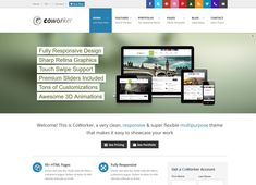 108 Best Html5 Templates Images Web Application Website Template