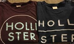 Lot Of 2 Hollister Mens Large T Shirt Burgundy Gray #Hollister #GraphicTee