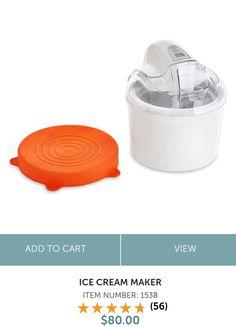 🍦🍦🍦Ice Cream Maker 🍨🍨🍨 Tiny.cc/amandacooksforyou Ice Cream Maker, Pampered Chef, Products, Ice Cream Making Machine, Gadget
