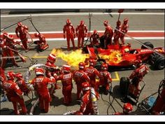 Formula 1 Pit Stops - 50s, 60s, 70s, 80s, 90s, 00s and 10's!