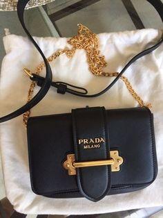 Details about  1799 Prada Cahier Belt Bag Crossbody Messenger bag bb4391375dd61