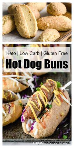Low Carb Bun, Low Carb Bread, Low Carb Keto, Keto Bread, Breakfast Desayunos, Keto Diet Breakfast, Low Carb Desserts, Low Carb Recipes, Cooking Recipes