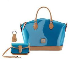 Dooney & Bourke Patent Leather - Turquoise Dreamy!