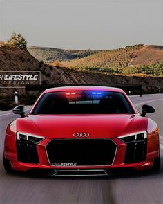 Audi R8 Police! - US Trailer would love to buy used trailers in any condition to or from you. Contact USTrailer and let us buy your trailer. Click to http://USTrailer.com or Call 816-795-8484