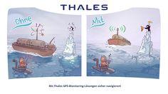 Mit Thales GPS-Monitoring-Lösungen sicher navigieren!