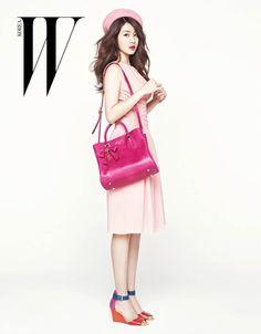 Sung Yuri W Korea Magazine
