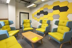 Fluffo Nike - soft, acoustic wall panels