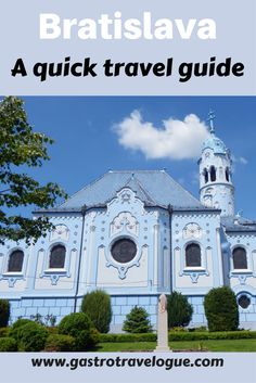 A quick guide to the main sights in Bratislava - Bratislava   sightseeing   Slovakia   Travel Blog   Travel Guide   Foodies   Europe