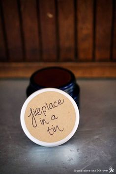 Fireplace in a Tin Warming Balm herbsandoilshub.c...  This is a creative recipe for a warming balm made with essential oils.