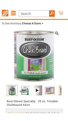 Rustolium Tintable  Chalk Paint
