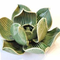 Duftstäbchenhalter Räucherstäbchenhalter Keramik Blüte