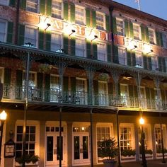 Marshall House - Savannah, Ga.  This is where I'm staying next month while in Savannah.