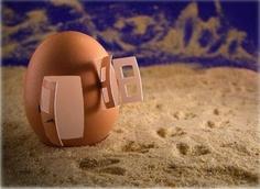 La casita de huevo